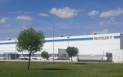 Benteler (Venta de Baños) extends its Facilities